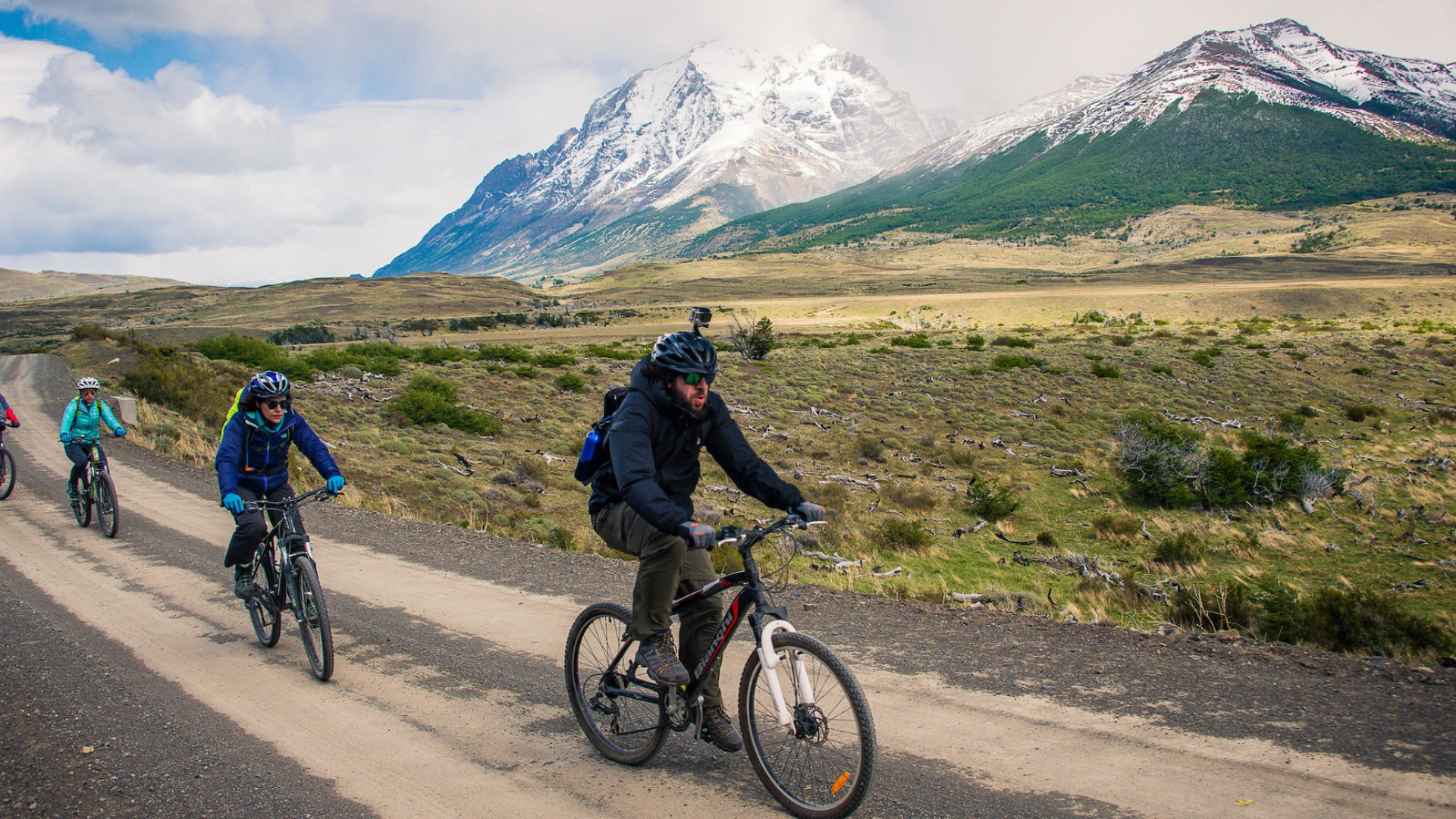 biking tour in patagonia