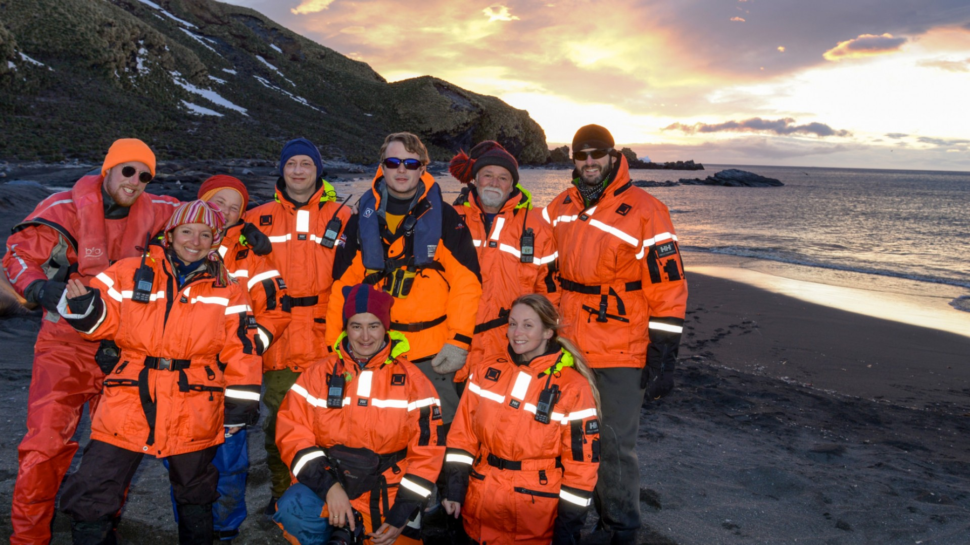 group tours in antarctica