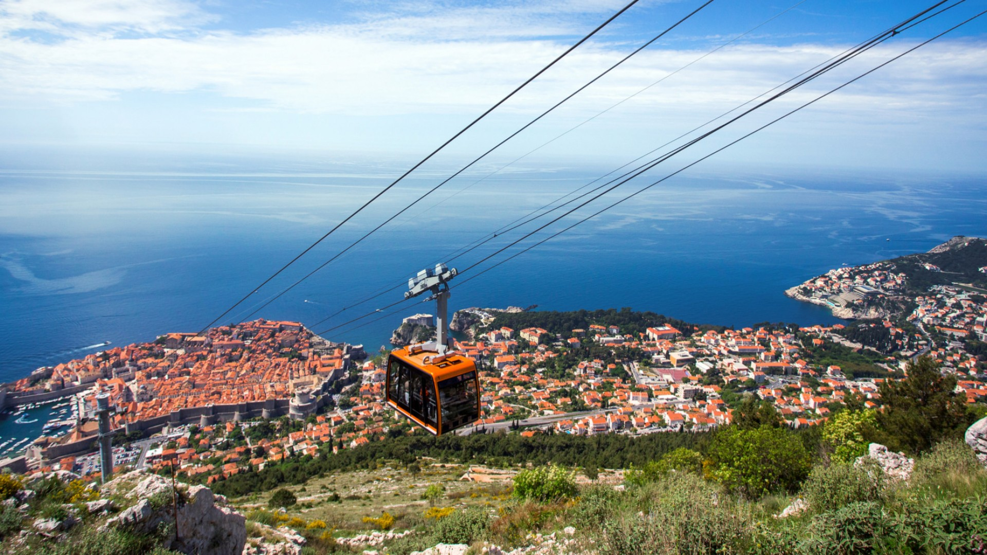 Cable Car Dubrovnik, Croatia