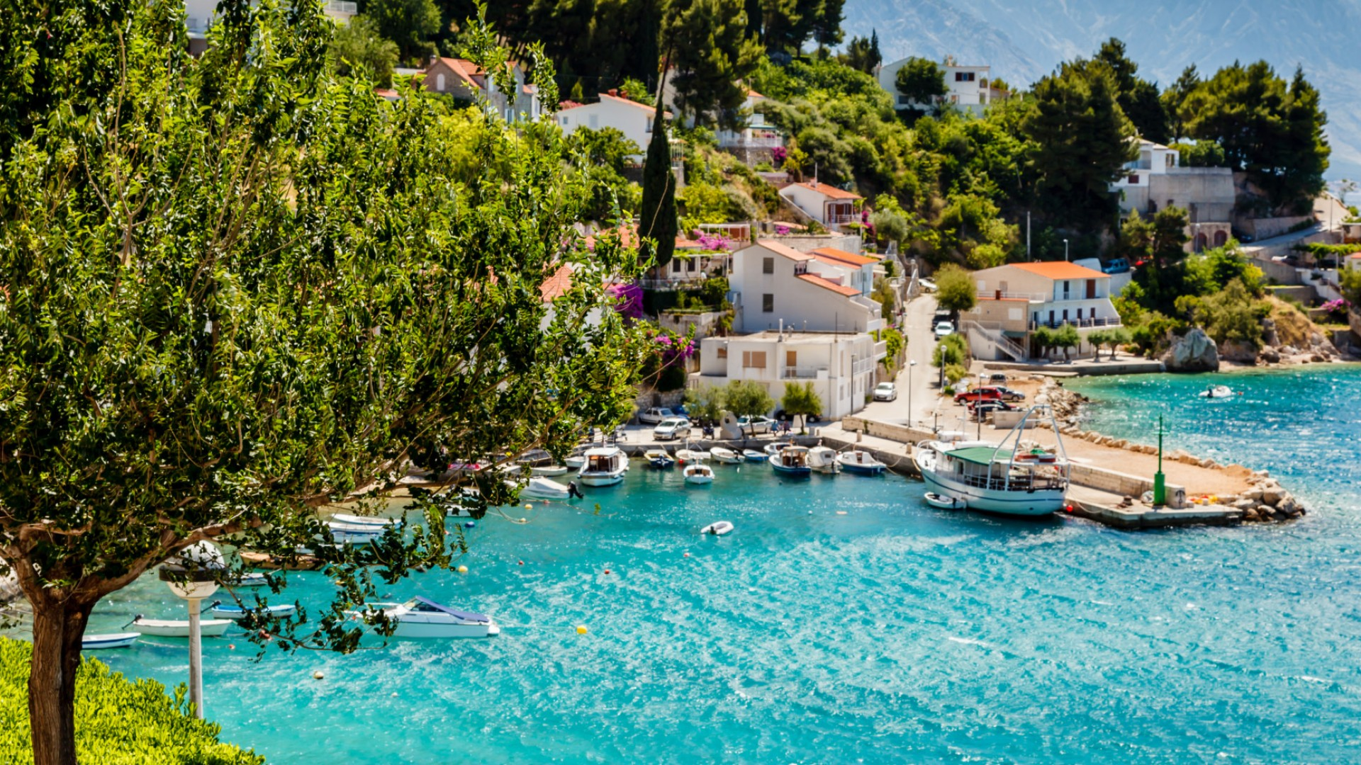 small town by the sea croatia