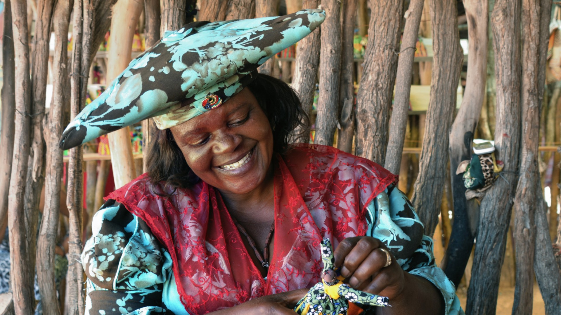 woman in Namibia