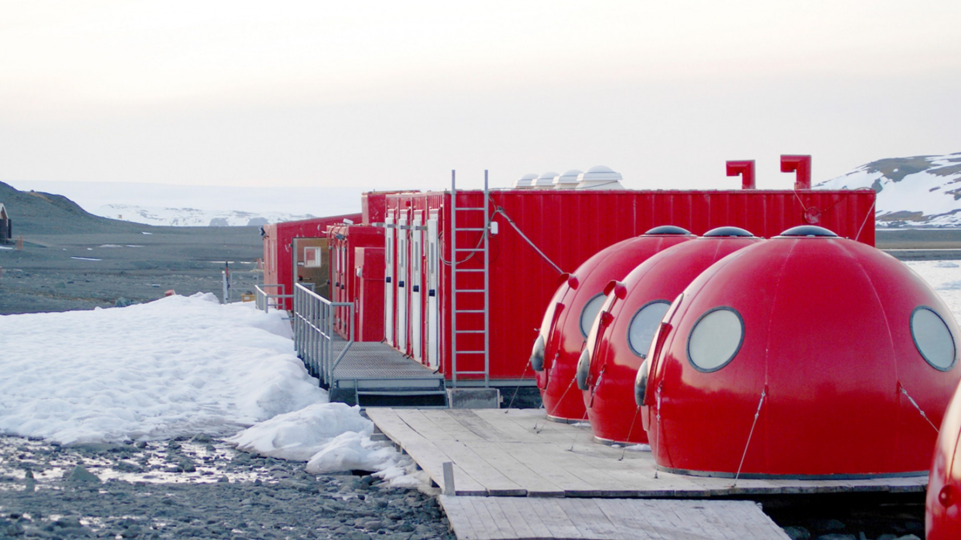 research facility in antarctica