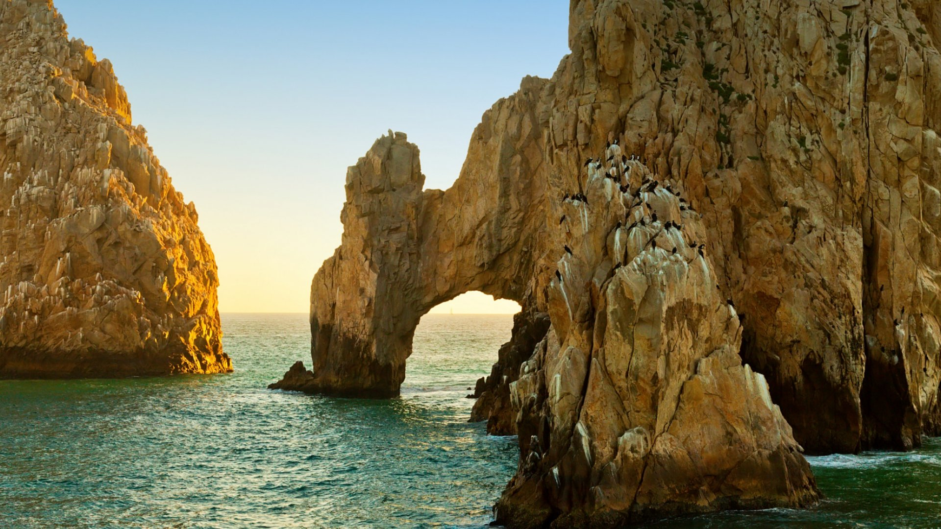 rock arches in southern baja