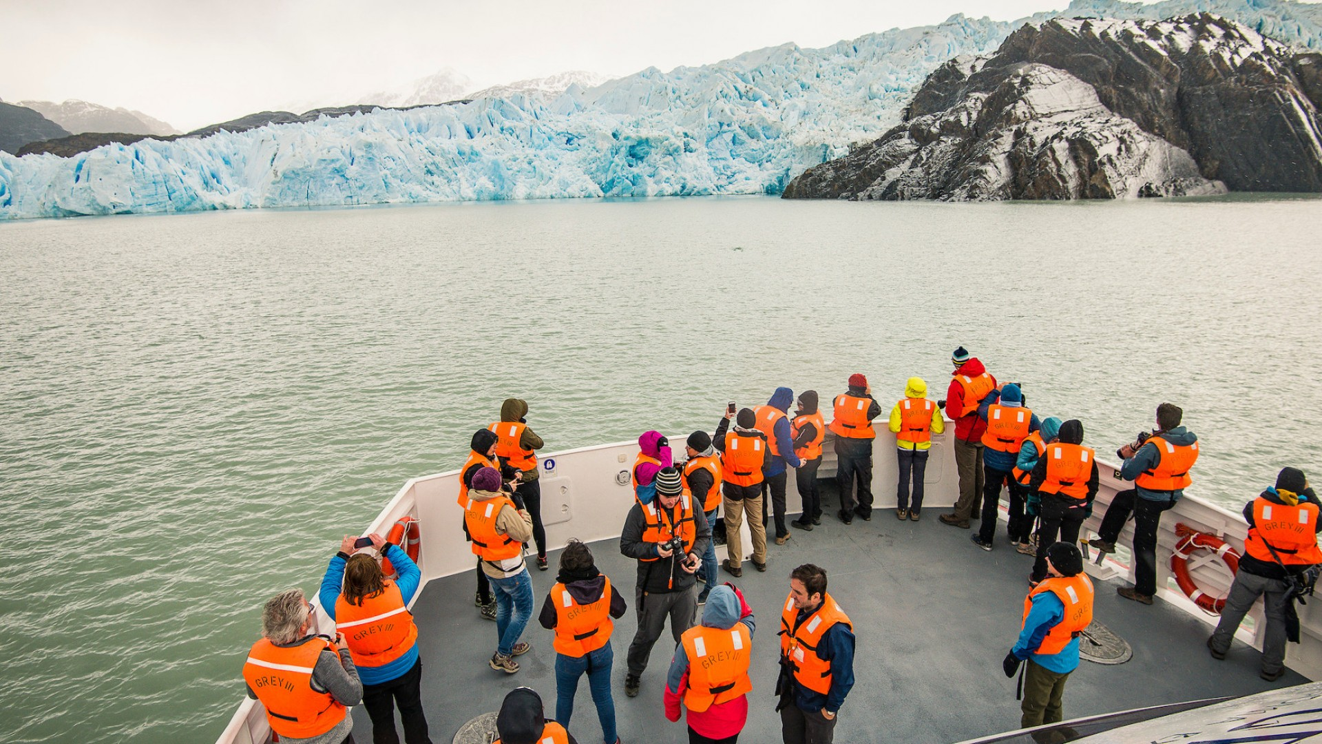 grey glacier tour in patagonia
