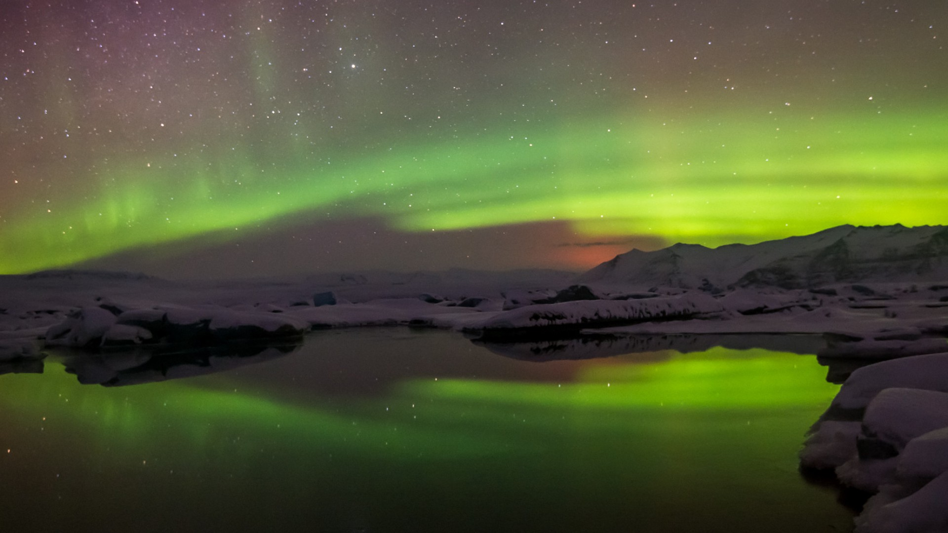 Northern Lights over Arctic