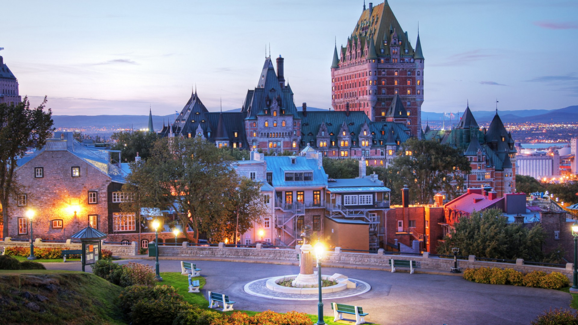 downtown quebec