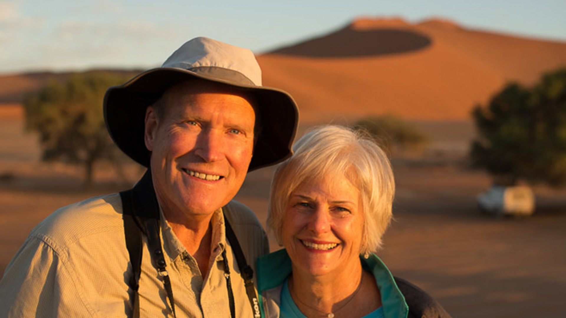 couple in Namibia