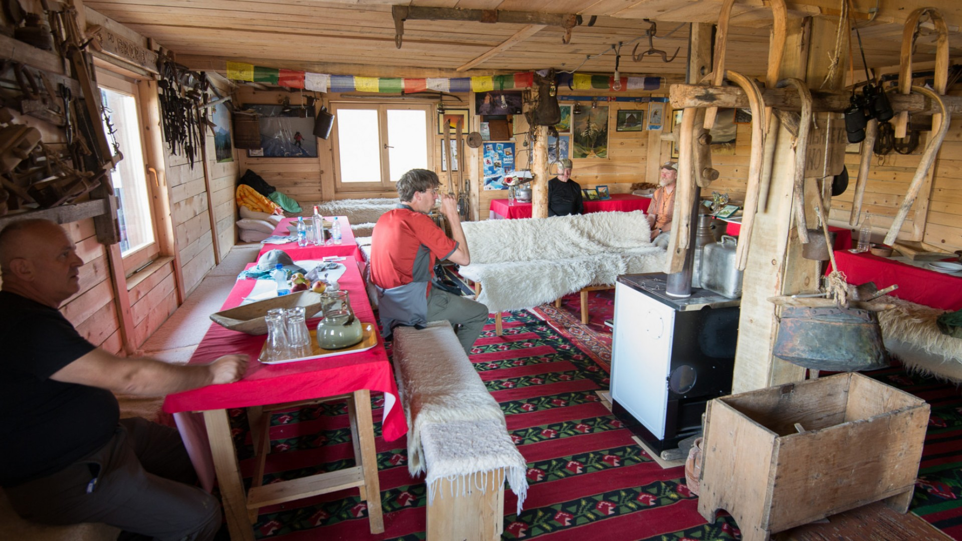 rustic accommodations in albania