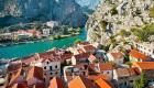 croatia sea and town