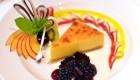 dessert on cruise ship in antarctica
