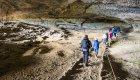 cave exploring in Patagonia