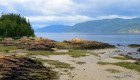 Beach in Quebec province