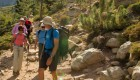 hiking the GR 20 Trail in Corsica