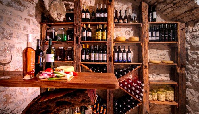 Wine cellar croatia
